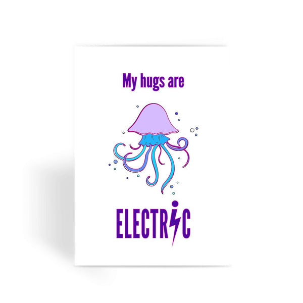 Electric hugs Greeting Card