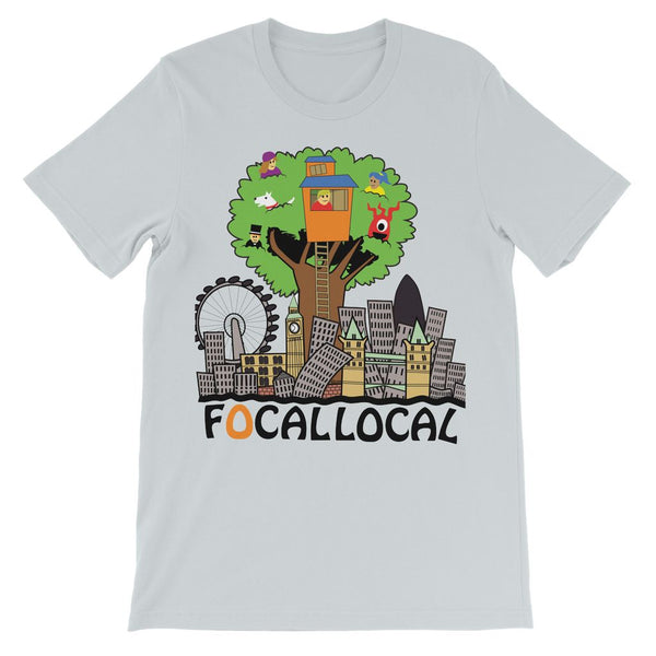 Focallocal Logo - Large Kids' T-Shirt