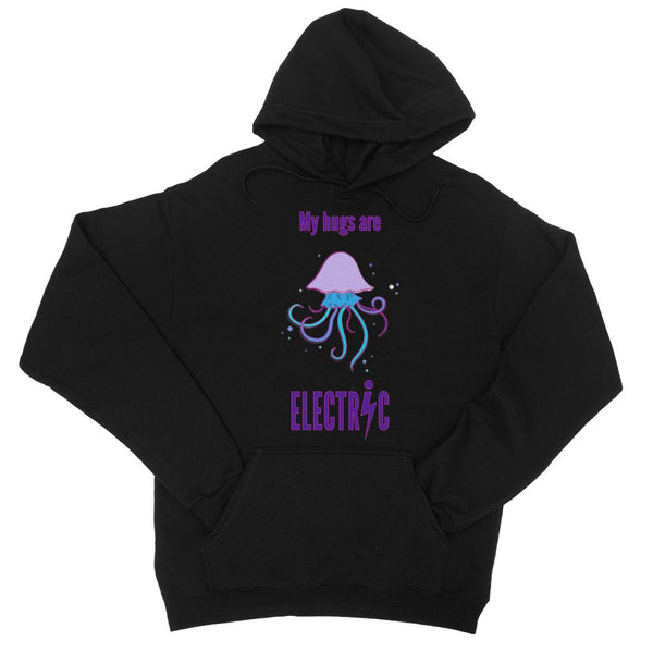 Electric hugs College Hoodie