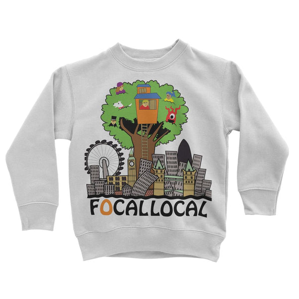 Focallocal Logo - Large Kids' Sweatshirt