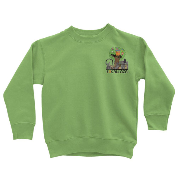 Focallocal Logo - Small Kids' Sweatshirt