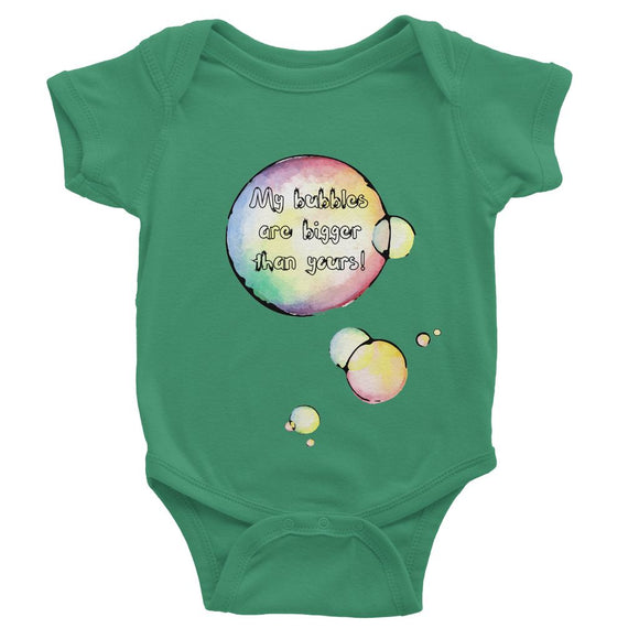 My bubbles are bigger Baby Bodysuit