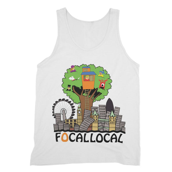 Focallocal Logo - Large Fine Jersey Tank Top