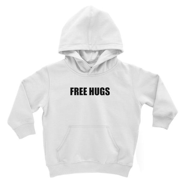 Free Hugs sign - Black Kids' Hoodie