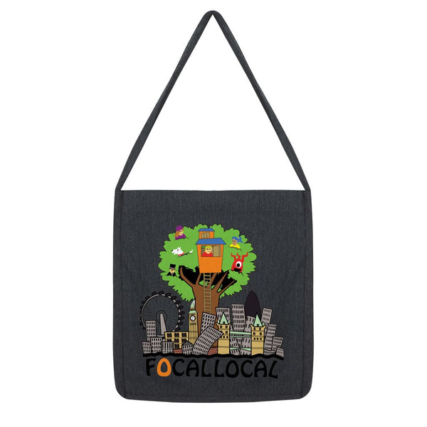 Focallocal Logo - Large Tote Bag
