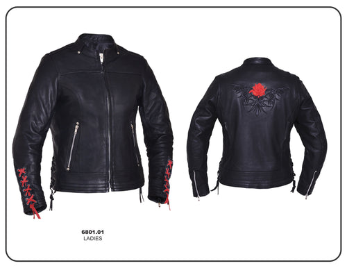 Ladies Ultra Jacket with Lace Accents, 6801