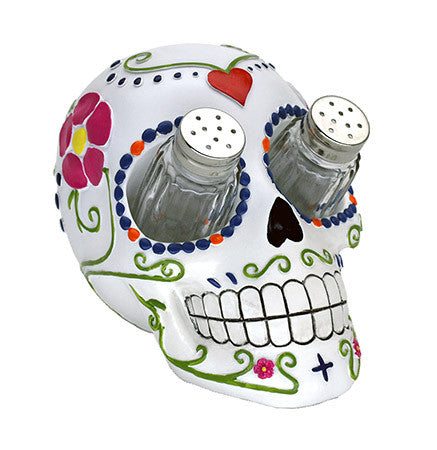 Sugar Skull Salt & Pepper