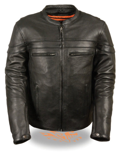 Men's Sporty Scooter Crossover Jacket, SH1408