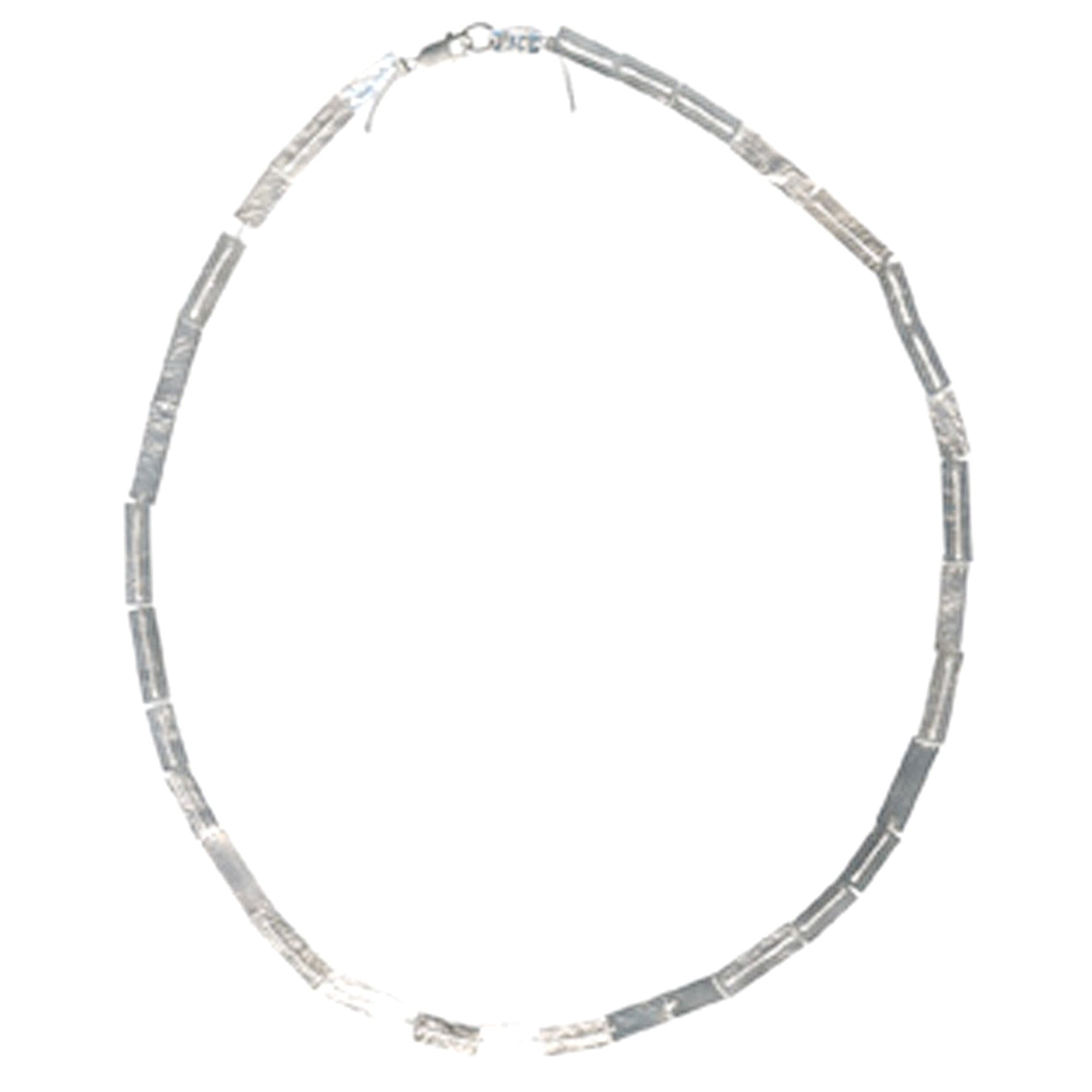 Dos Riberas: Carnival Sterling Silver Necklace - Long