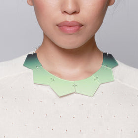 Inca Starzinsky: Fade Sun Necklace - Mint