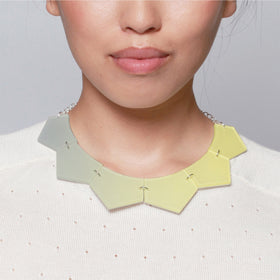 Inca Starzinsky: Fade Sun Necklace - Yellow