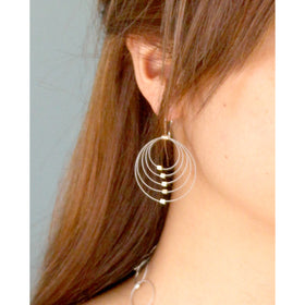 MPR: Convergence Earrings - Steel/Silver