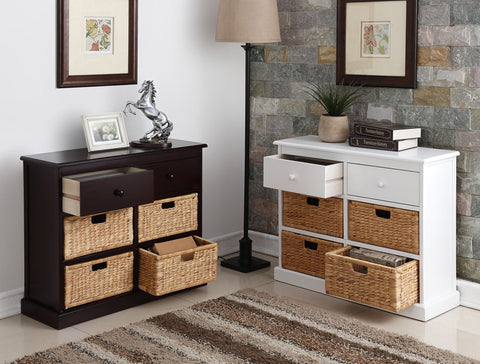 Arbor Wicker Cabinet - Furnlander