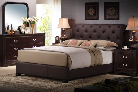 Satilla PU Bed - Furnlander