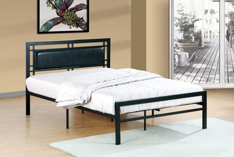 Mirabelle Twin Metal Bed Black - Furnlander