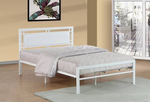 Mirabelle Twin Metal Bed White - Furnlander
