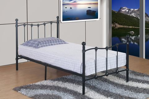 Shaldon Twin Metal Bed - Furnlander