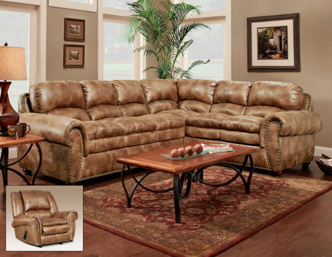 Arabella Almond Sectional Sofa Set