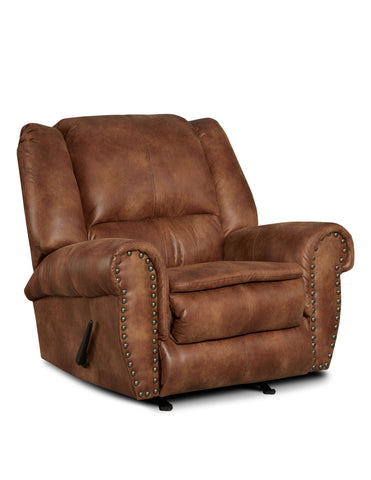 Arabella Almond Recliner - Furnlander