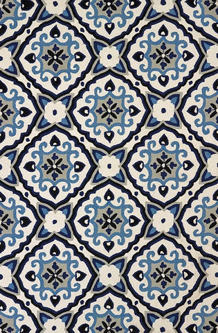 Mosaic Medallion - Navy - Furnlander