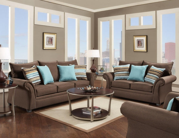 Archer Sofa - Cocoa - Furnlander