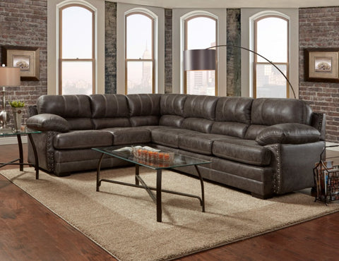 Nevada Ash Sectional - Furnlander