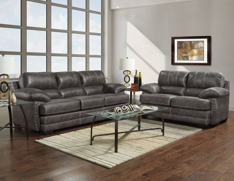 Nevada Sofa & Loveseat Set;  2 PCS. SET