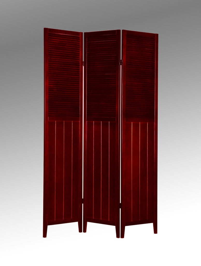 Zane Room Divider Cherry - Furnlander