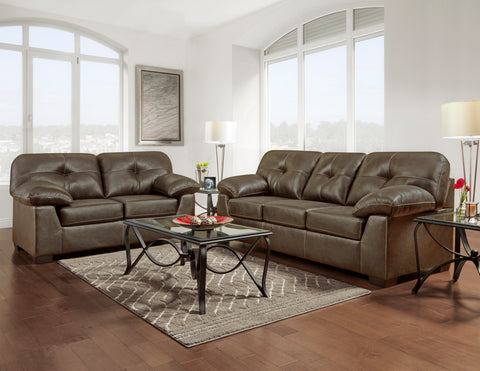 Yuma Tumbleweed Sofa & Loveseat Set;  2 PCS. SET