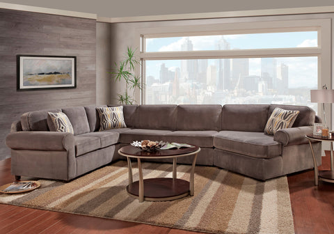Mansion Storm Sectional Sofa Set - Furnlander