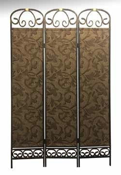 Caroline Room Divider Metal / Cloth - Furnlander