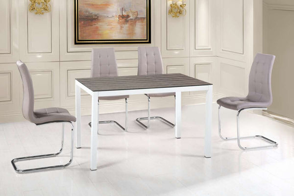 Valentina White Dining Table - Furnlander