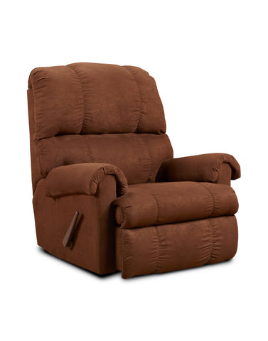 Alberta Chocolate Recliner - Furnlander