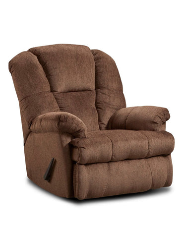 Brooks Chocolate Recliner - Furnlander