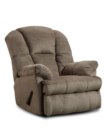 Brooks Pewter Recliner - Furnlander
