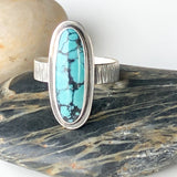 Statement Hubei Turquoise Ring - Size 7