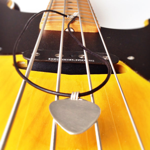 Rocking Guitar Pick Pendant