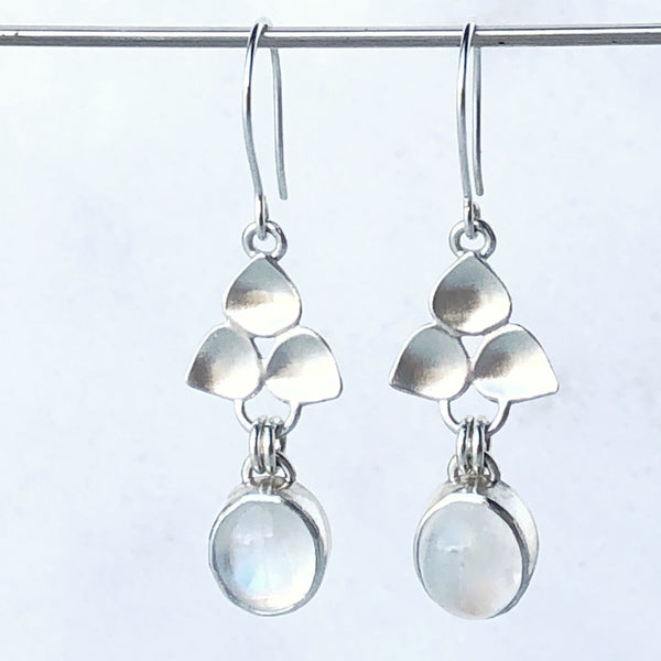 Moonstone Drop Earrings