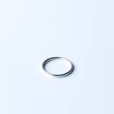 A single stacking ring in search of friends