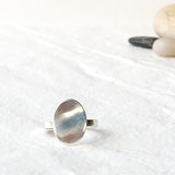 Elipse Ring in Sterling Silver