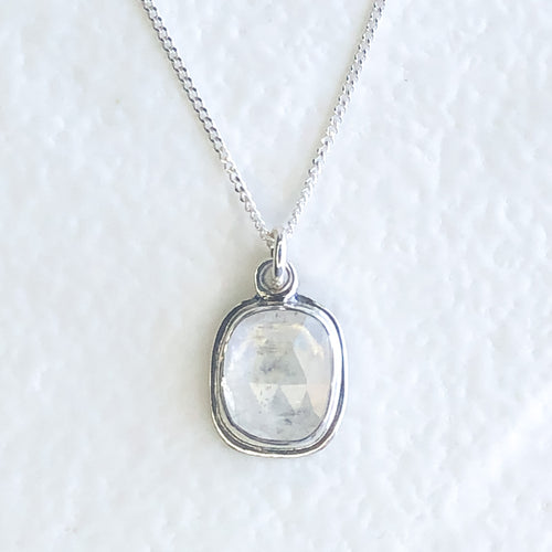White Moonstone Pendant I