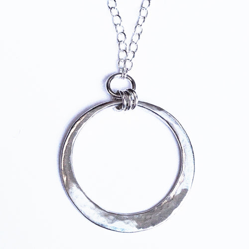 Sterling silver 2 in 1 necklace