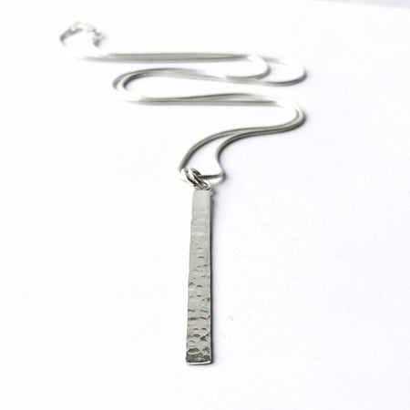 Small Modern Bohemian Silver Hoop Earrings