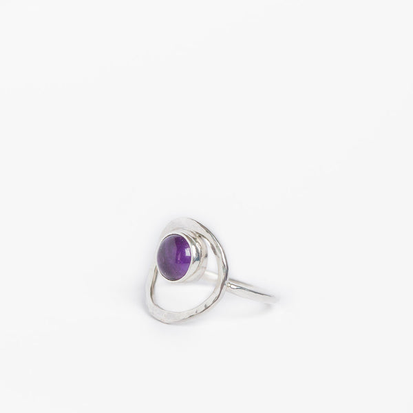Selene Moon Goddess Ring
