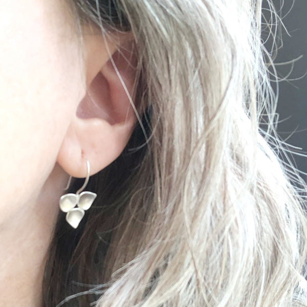 Rain Blossom Hook Earrings