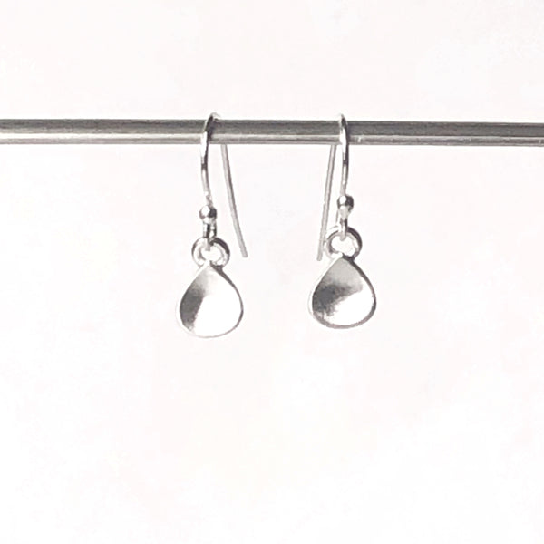 Tiny Water Drop Dangle Earrings