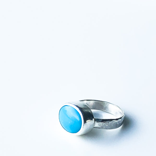 American Turquoise and Silver Ring