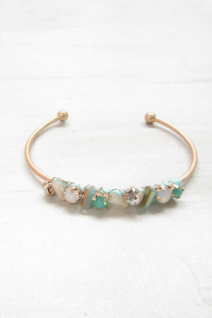 Cuff bracelet - Mint color