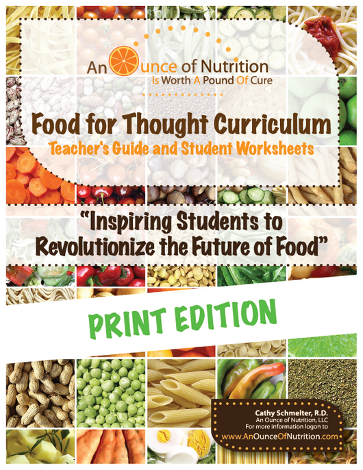 SINGLE USER - Food For Thought Curriculum - PRINT EDITION