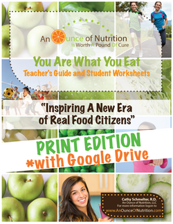 SINGLE USER - You Are What You Eat** PRINT EDITION  + Google Drive